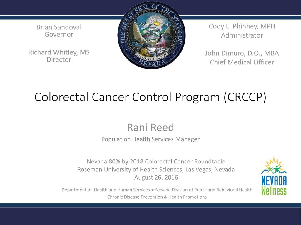 colorectal cancer control program cancer colon screening