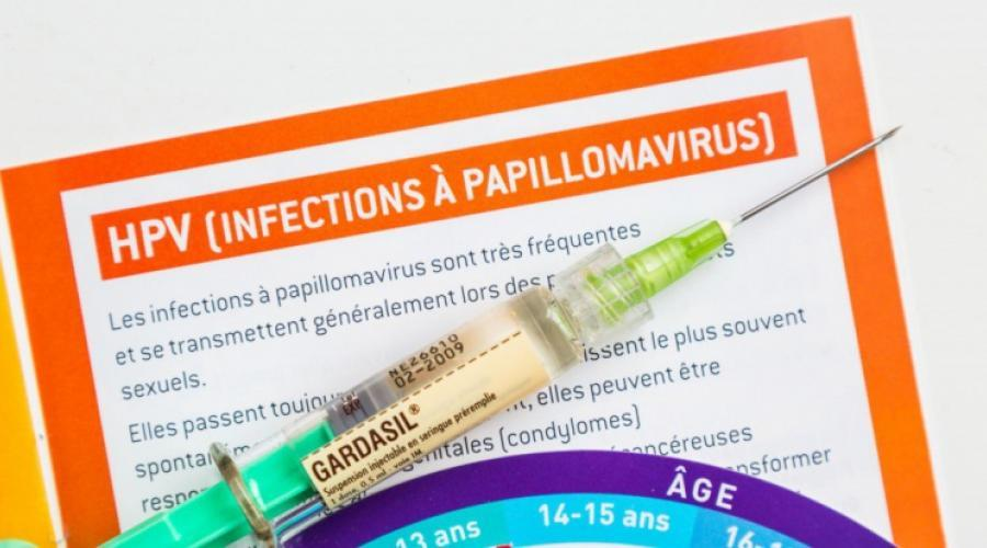 infection papillomavirus traitement